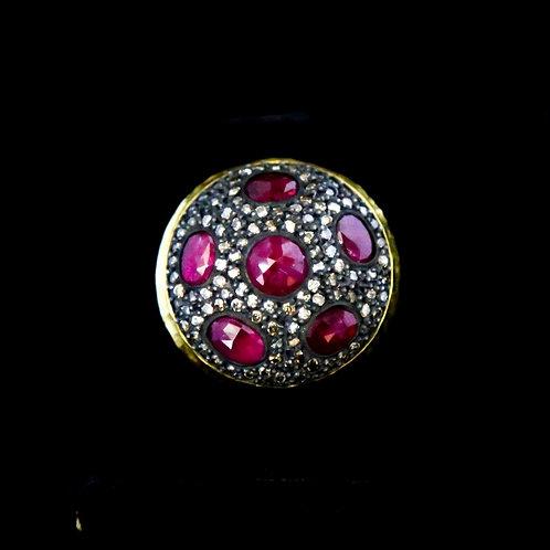 Diamond / Ruby Ring