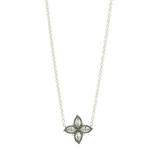 Bloom Petal Pendant Necklace
