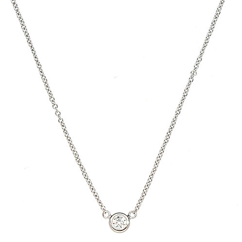 White Bezel Diamond