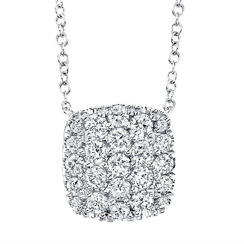 Cushion Cluster Necklace