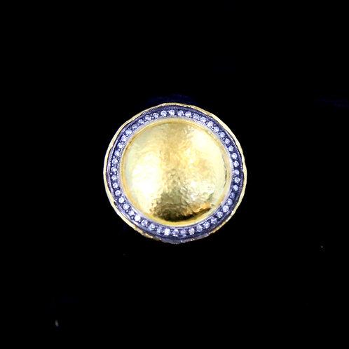 Gold Circle Ring