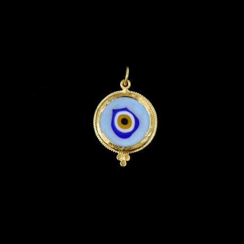Medium Light Blue Eye Charm