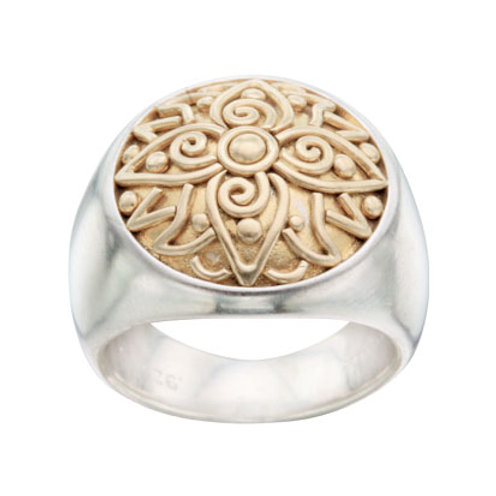 Ornate Lotus Ring