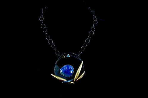 18K Tanzanite Necklace