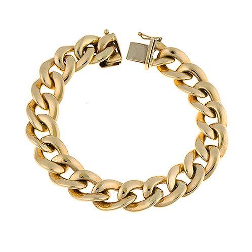 14K Seamless Link Bracelet