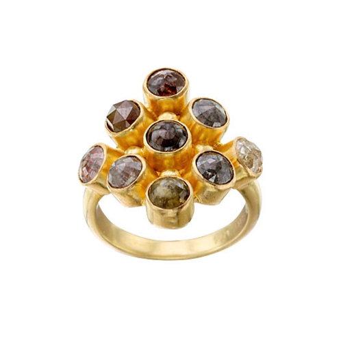 Multi-Station Diamond Ring