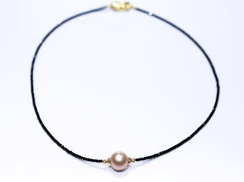 Tahitian Pearl Necklace (Rose)