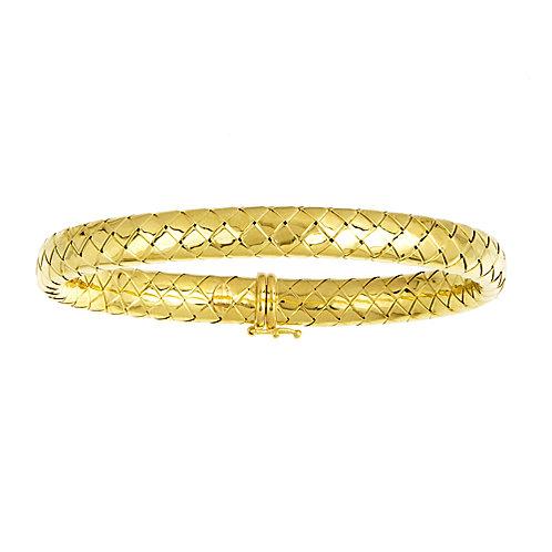 18K Woven Bracelet