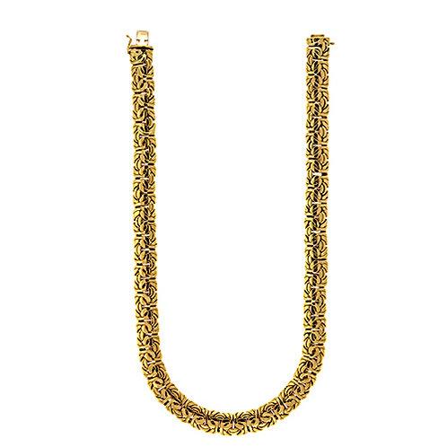 18K Byzantine Necklace