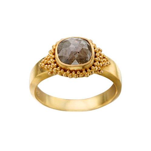 Medium Round Diamond Ring