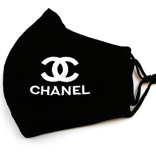 Black and White Fashion Mask