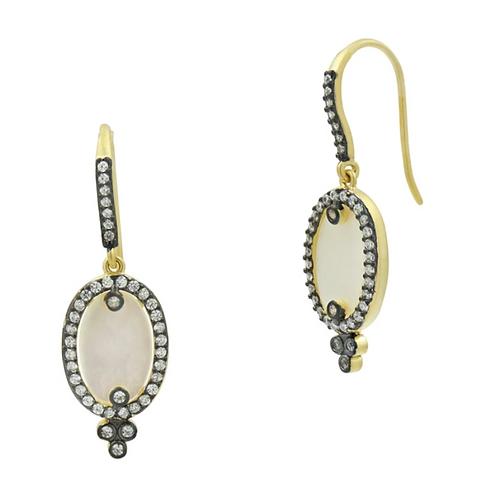 Mother of Pearl Hook Drop Earrings