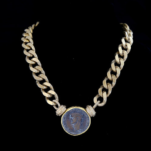 Talbot Chain with XL Coin