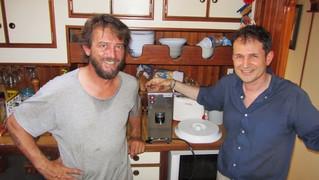 Espresso12  cooker installed on Soldini's Elmo'S Fire