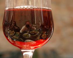 Ombra di vino rosso