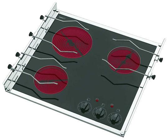 3 burner electric stove for boat