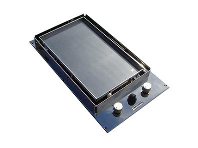 Gas plancha for boat