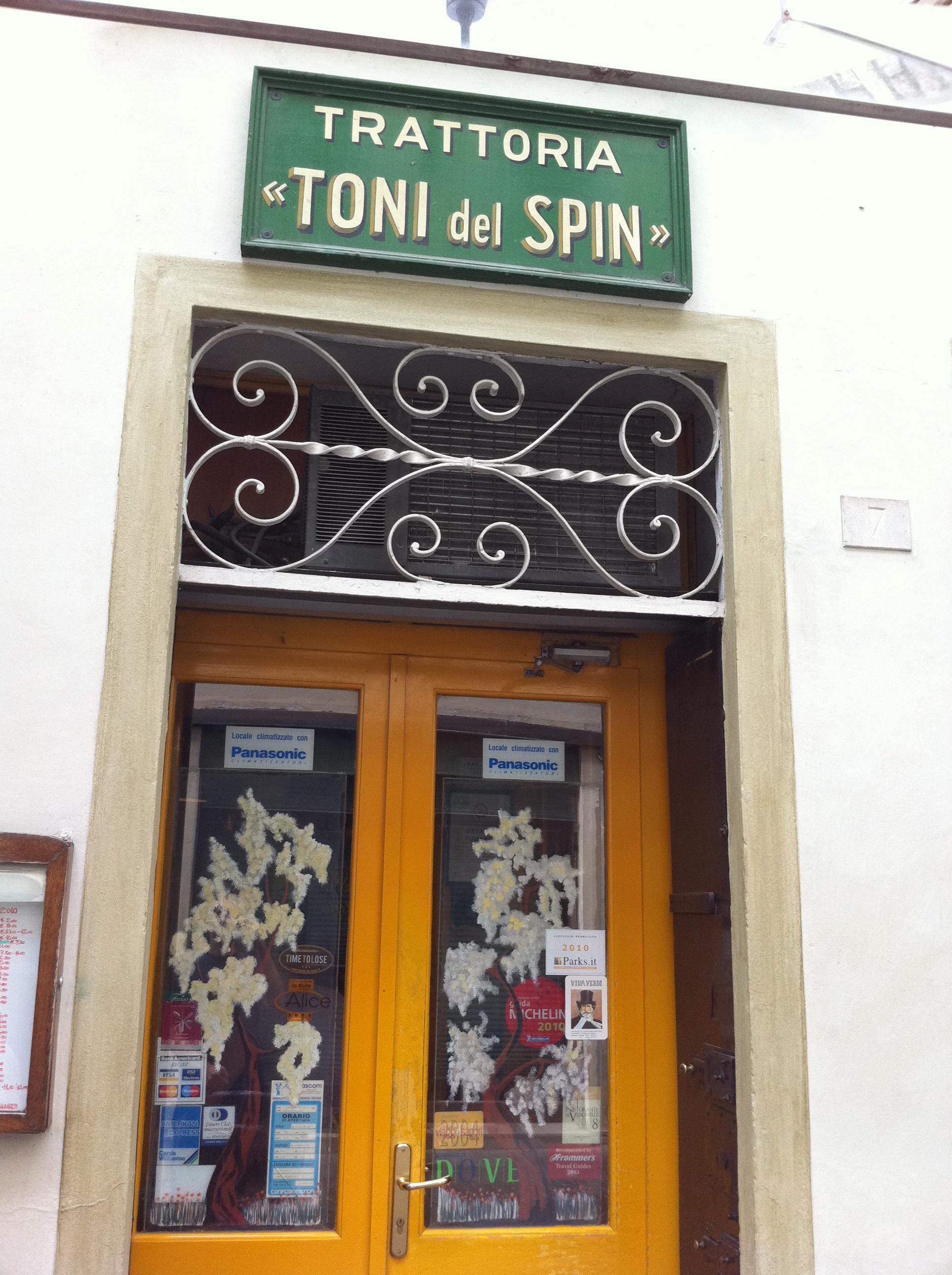 Toni del Spin Ristoranti Treviso