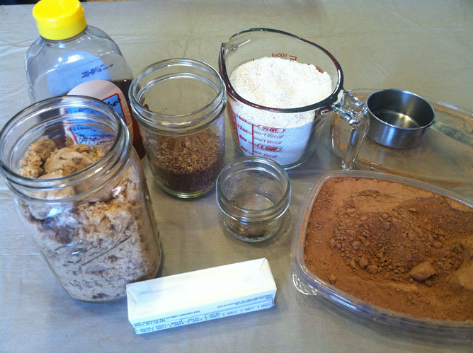 Cacao Chocolate No-Bake Fudge Cookies