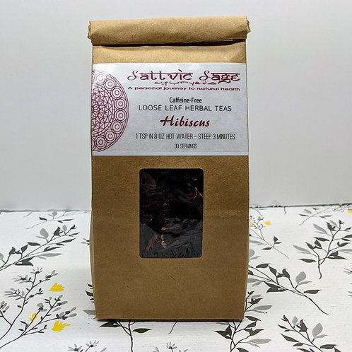 TEA BLENDS:  Hibiscus