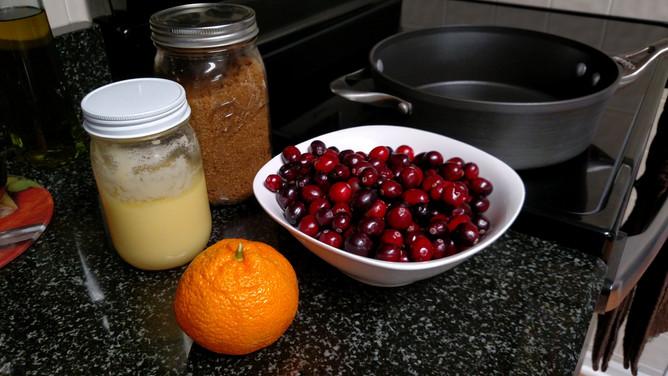 Easy Cranberry Tangerine Jam
