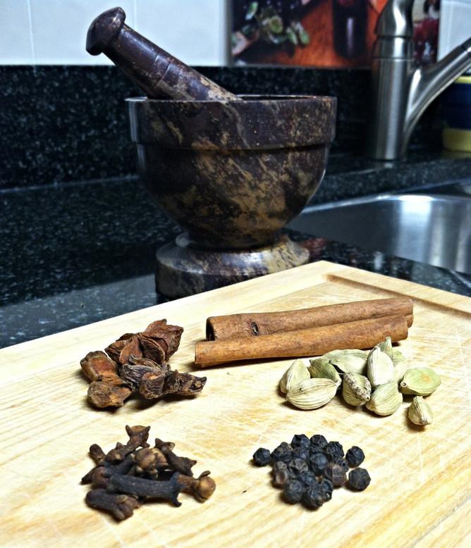 Warming Chai Tea