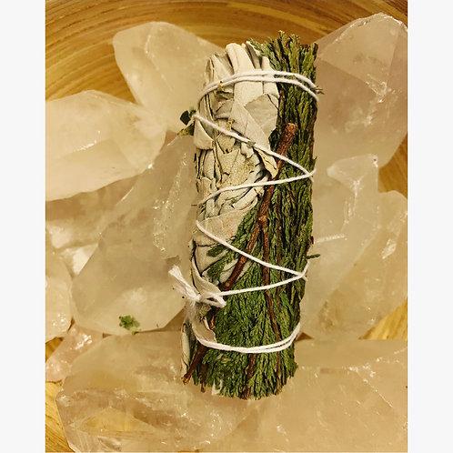 White Sage & Cedar Smudge