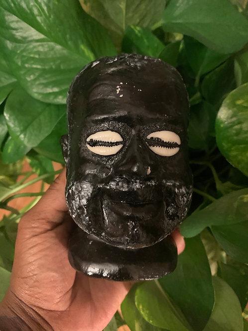 Black Eleggua Altar Bust