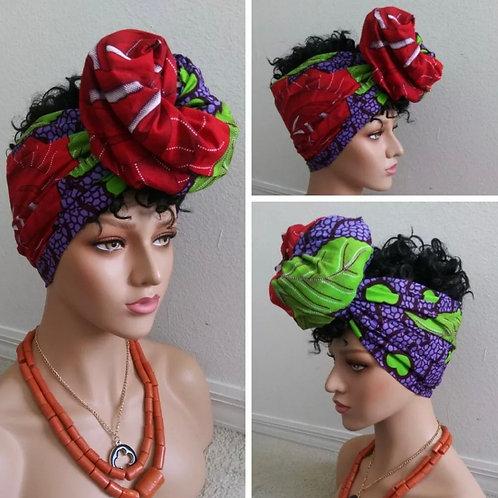 Blueberry Motherland Headwrap