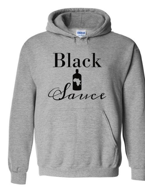 Black Sauce Logo Hoody