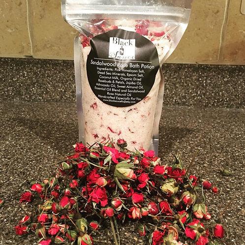 Sandalwood Rose Bath Potion