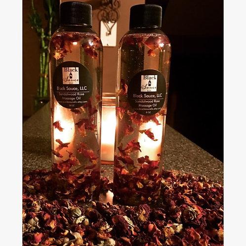 Sandalwood Rose Massage Oil