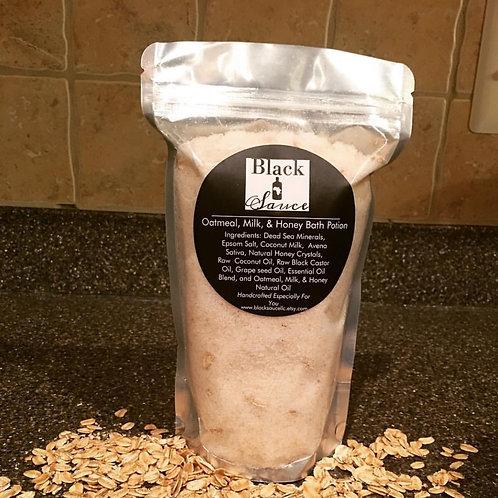 Oatmeal, Milk, & Honey Bath Potion