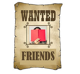 wanted poster for Friends of the Library