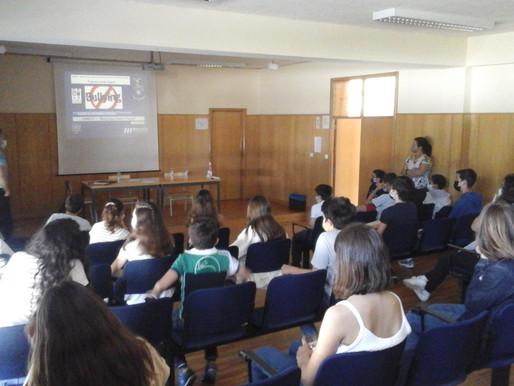 ESCOLA SEGURA EM SESSÃO DE SENSIBILIZAÇÃO SOBRE BULLYING