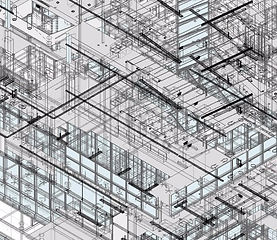 Outsource MEP BIM CAD Services | MEP Coordination Drawings