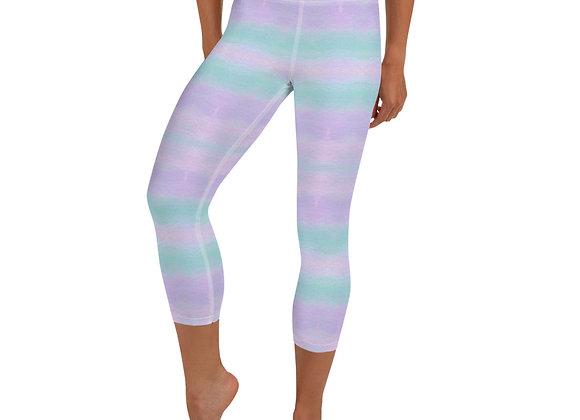 Pastel Yoga Capri Leggings
