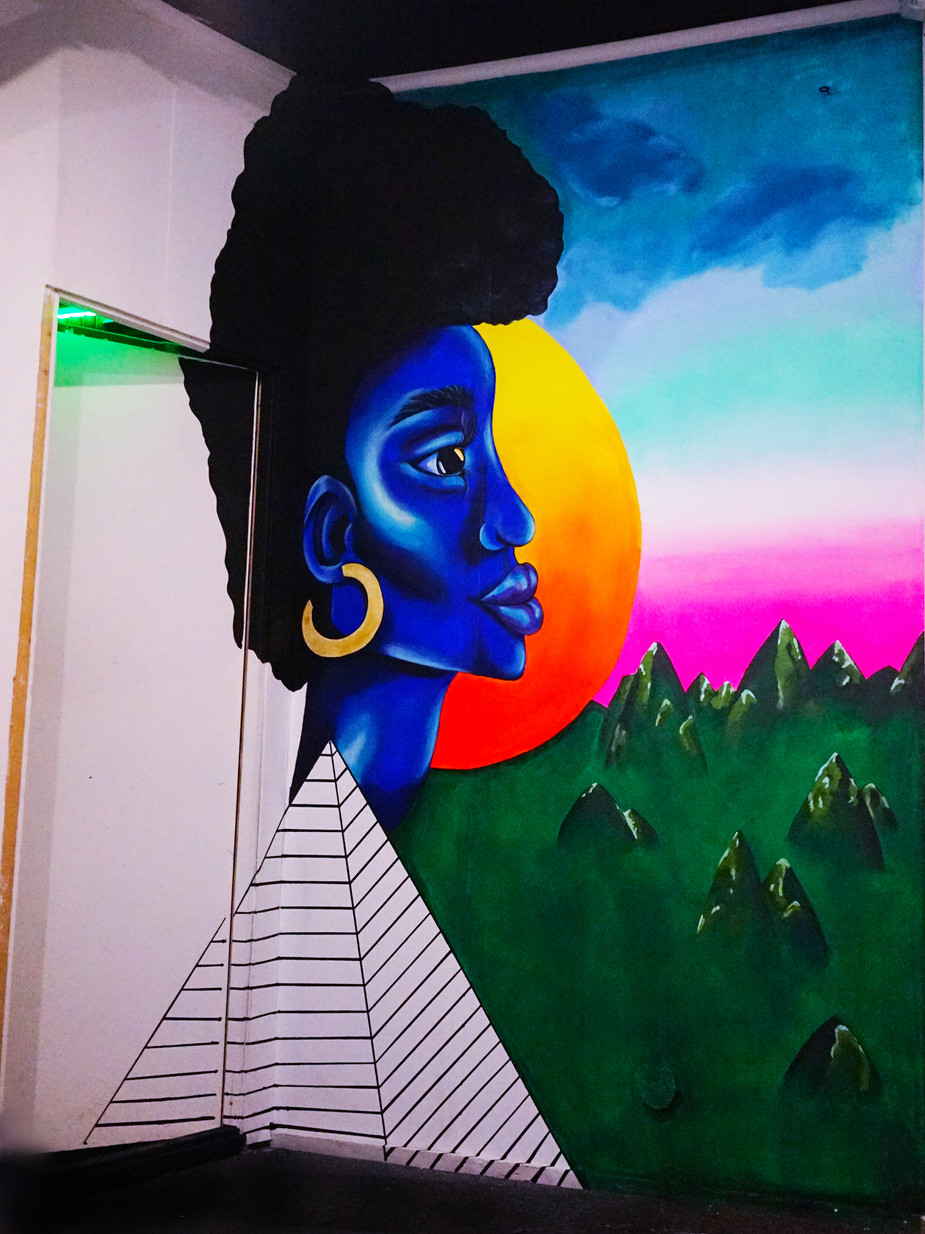 Mural LesGents Recording studio