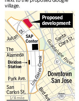 Downtown San Jose Transit Village Near Planned Google Mega-Campus Steams Ahead