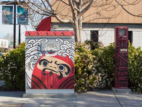 The Art Box Project: Integrating Art Into San Jose neighborhoods.