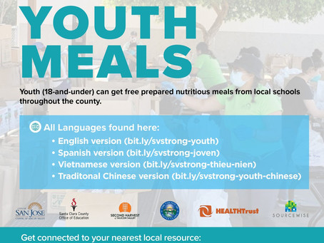 Free Prepared Meals For Youth (18-And-Under)