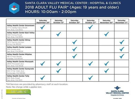 Free Flu Shots for Adults