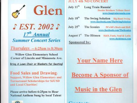 Music in the Glen 2019