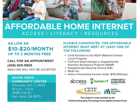Affordable Home Internet Access