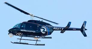 News Helicopters - With the advent of the fixed roadway traffic cameras, the use of news helicopters has significantly declined but they are still sighted over freeways and scenes of major incidents.  They are on scene so you can stay home and watch what's happening on your TV.