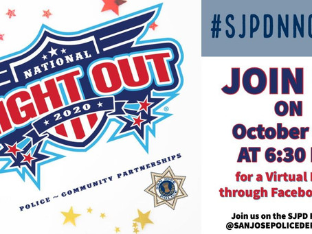 Virtual National Night Out is Coming Up!