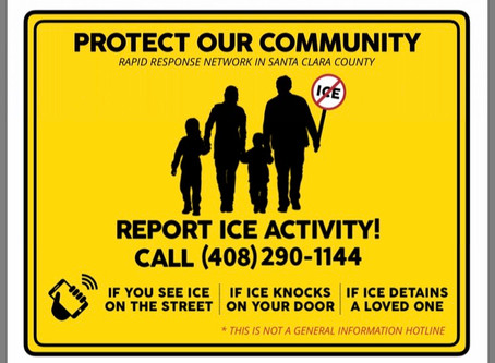 Santa Clara ICE Rapid Response Hotline