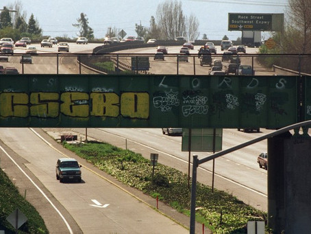 Rash Of I-280 Graffiti Angers South Bay Drivers