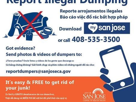 Combating Illegal Dumping in San José: We need your help!