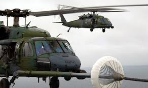 "Air National Guard - The Air National Guard is going to be responsible for the ""military"" helicopters you see.  Frequently flying in and out of Moffett, they may be training or moving equipment/people around."